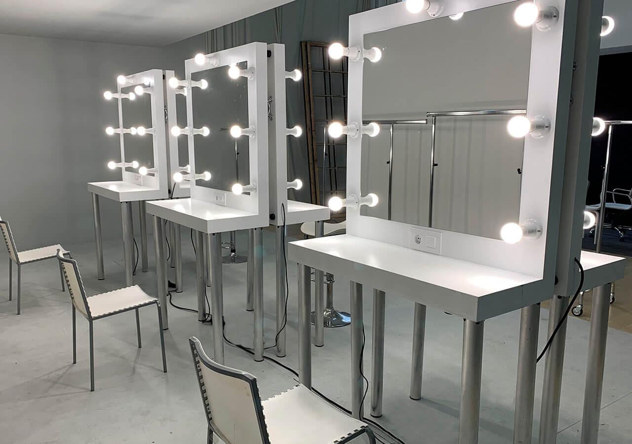 Alquiler espejos maquillaje