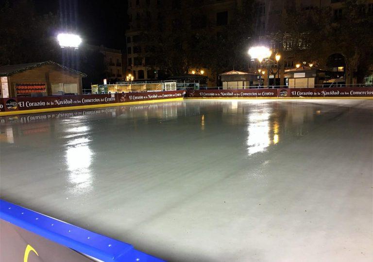 focos para pista de hielo
