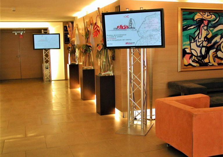 alquiler de pantallas para presentaciones