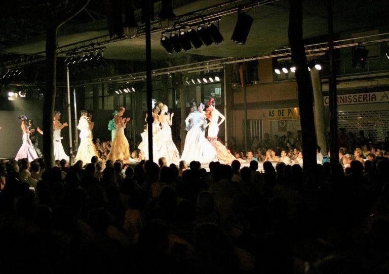 alquiler de tarimas para desfile de moda