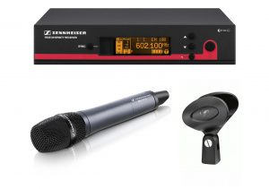 micrófono inalambrico de mano