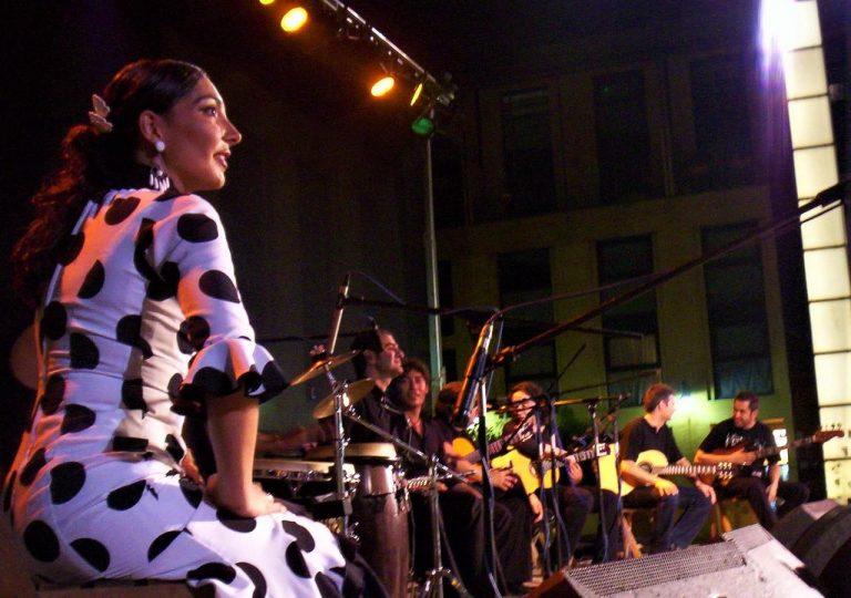 equipo de sonido de alquiler para actuacion flamenca