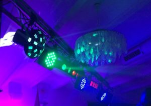 Alquiler de Iluminación de  Discoteca
