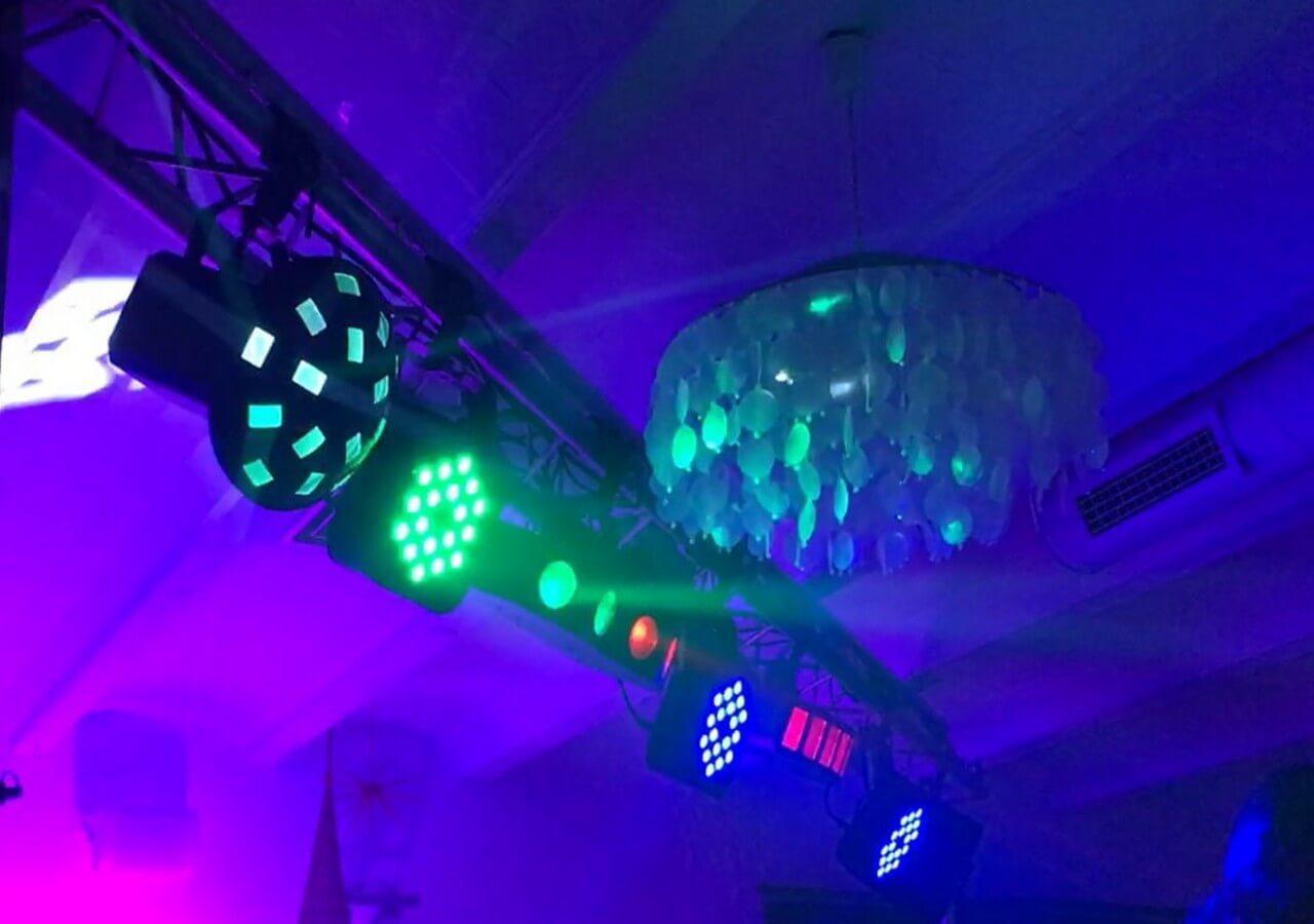 Iluminación para discotecas