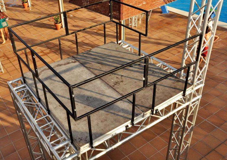 podiums para gogos