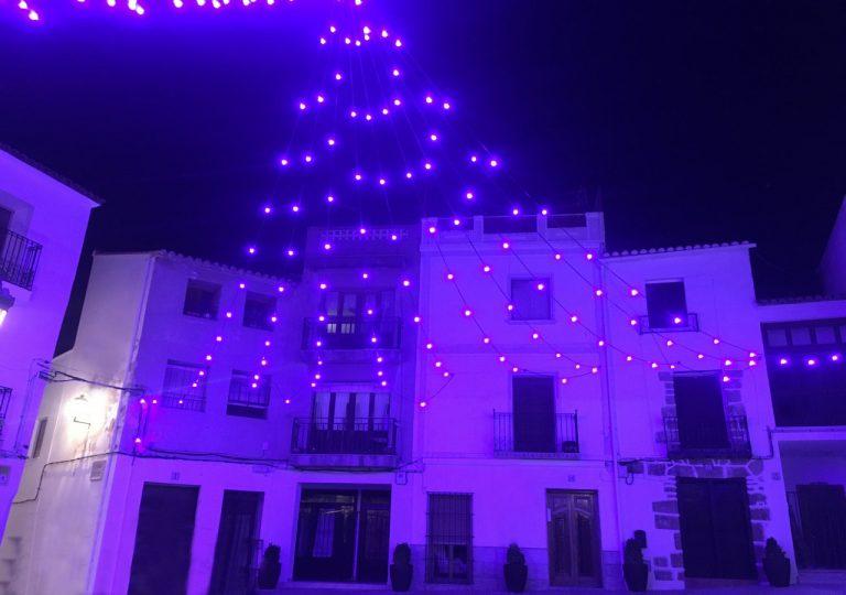 iluminación para navidad de alquiler