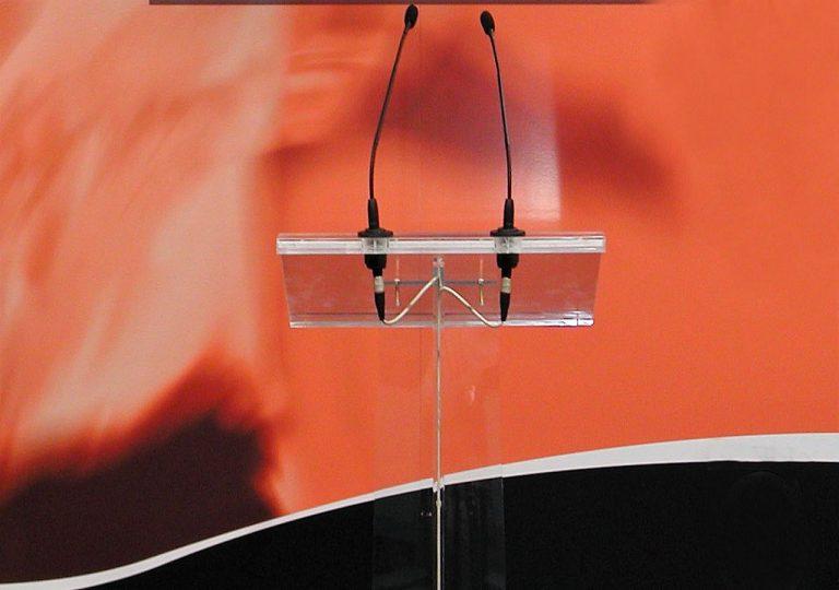 micrófonos para atril