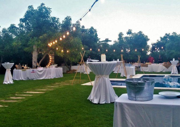 iluminación decorativa de boda