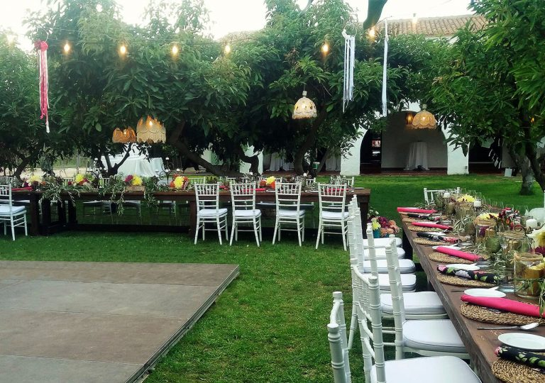 alquiler luces para bodas