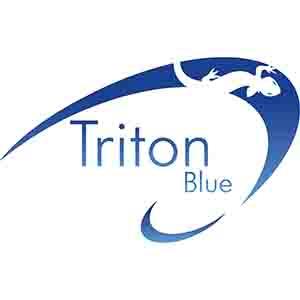triton blue iluminacion