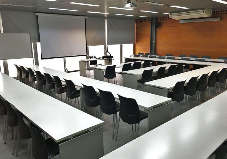 aulas con audiovisuales