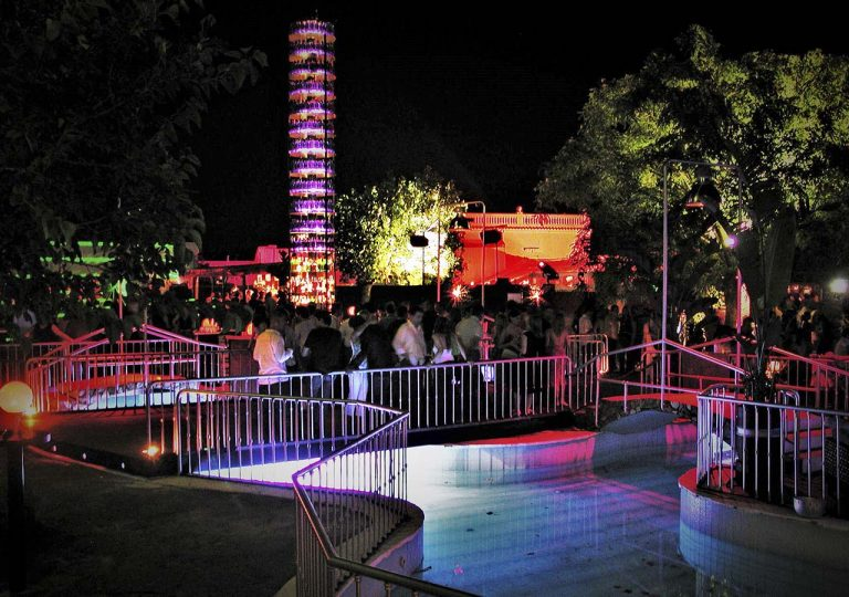 instalacion de sonido e iluminacion para terraza de verano