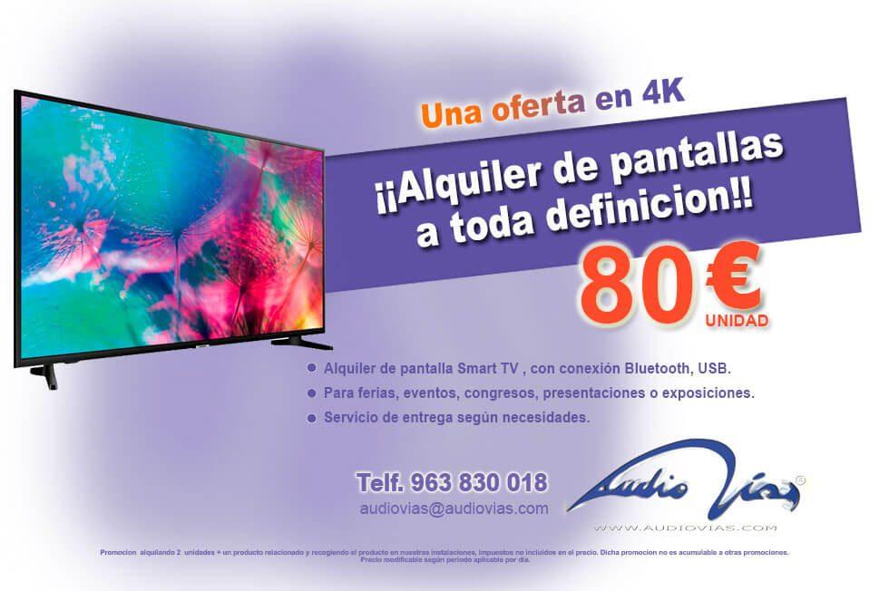 promoción pantalla smart tv